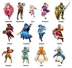 Greek Mythology Figures | Greek mythology - Character by ~bearstones on deviantART