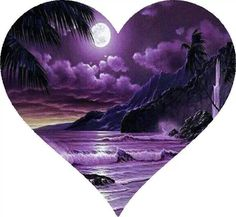 Purple Heart ... Reminds me of Maui. <3