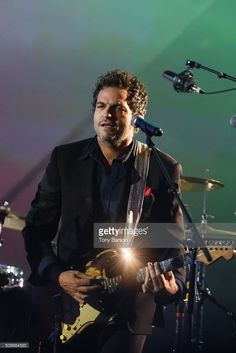 Matthieu Chedid performs during 'Les Victoires De La Musique' at Le Zenith on February 12, 2016 in Paris, France.