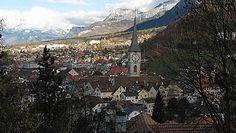Chur, Switzerland My favorite Swiss town. Chur Switzerland, Swiss Alps, Europe Destinations, Day Trips, Paris Skyline, Grand Canyon, Places To Go, Castle, Wanderlust