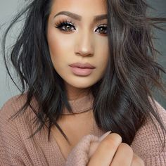 This Makeup Trend Is The Easiest Way To Update Your Look A true makeup inspiration – Das schönste Make-up Makeup Trends, Makeup Tips, Makeup Ideas, Makeup Tutorials, Makeup Inspo, Beauty Make-up, Beauty Hacks, Hair Beauty, Kiss Makeup