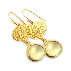 Joy oorbellen golden #applepiepieces