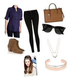 """""""harry's girlfriend"""" by lupita-gonzalez-1 on Polyvore featuring Current/Elliott, Étoile Isabel Marant, DKNY, Ray-Ban, Michael Kors, Leith, women's clothing, women's fashion, women and female"""