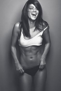 You would not achieve a flat stomach without movement.