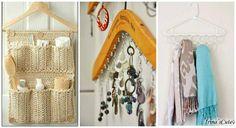 Ideas útiles para el hogar con perchas de madera y alambre