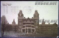 Athens State Hospital - Athens Ohio. my dad worked here and i had psych nursing classes here.