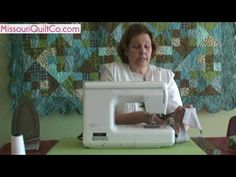 Half Square Triangle Quilting Block - Beginner Block Quilting Series - YouTube Awesome tutorial
