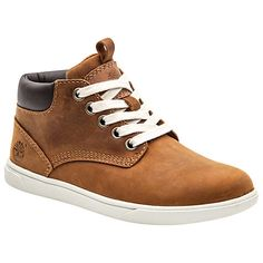Buy Timberland Groveton Leather Chukka Boots, Brown Ginger Online at johnlewis.com