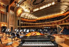 Severance Hall, home of The Cleveland Orchestra.