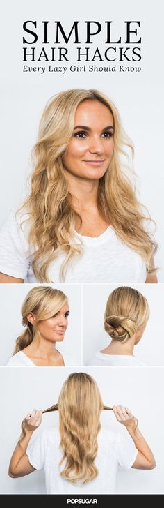 5 Easy Hair Hacks You'll Be Happy You Learned This Summer