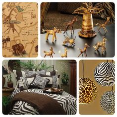 Safari Chic A Look At Safari Chic Decor With A Wild Style These Are All Grown Up Versions Of Safari Lush And Chock Full Of Animal Prints And Patterns