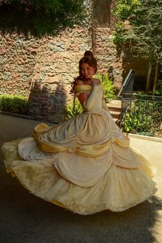 "Belle Disney Land ""can you twirl"""