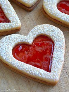 Linzer Heart Cookies Recipe