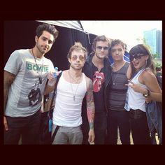 Rock Stars, Radio DJ's and KYBOE!