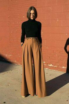 Fashion Mode, Modest Fashion, Look Fashion, Autumn Fashion, Womens Fashion, Fashion Design, Modest Clothing, Modest Pants, Gothic Fashion
