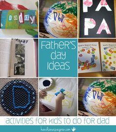 Father's Day ideas for kids to do for Dad