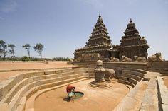 The most beautiful temple in the world! Shore Temple, Mamallapuram
