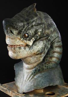 MEN IN BLACK II (2002) - Shark Guy Mask and Gloves - Price Estimate: $2000 - $3000