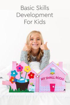 My Small Room Montessori Interactive Multi-Activity Educational Quiet Book