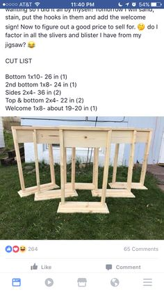 Outdoor projects, diy projects to try, craft projects, diy wood projects, wood Diy Wood Projects, Outdoor Projects, Diy Projects To Try, Home Projects, Woodworking Projects, Outdoor Decor, Teds Woodworking, Woodworking Videos, Do It Yourself Furniture