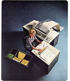 The IBM 6400 - How the office environment has changed!