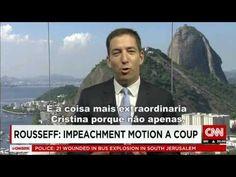Na CNN jornalista desmascara o impeachment contra Dilma Rousseff no Bras...