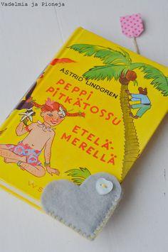 DIY bookmarks, Vadelmia ja Pioneja