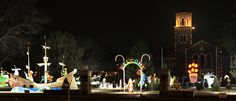 The MSU-Burns Fantasy of Lights on the lawn of Midwestern State University. Click through for more details!