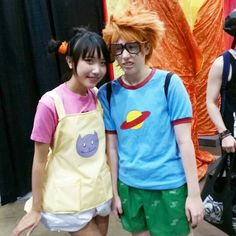 Kimi and Chuckie Rugrats Cosplay