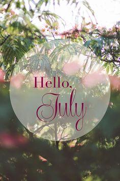 ❋ Hello July
