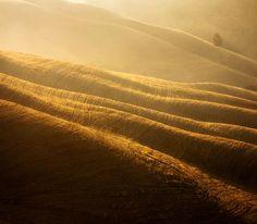 Il fotografo polacco Marcin Sobas è stato per la prima volta in Toscana otto anni fa e si è talmente innamorato dei paesaggi rurali edella luce che la caratterizzano, da decidere di ritornare più volte in Italia per ritrarla nei suoi scatti. Con un obiettivo molto potente, ha catturato straordinarie vedutedall'alto in primavera, in estate...