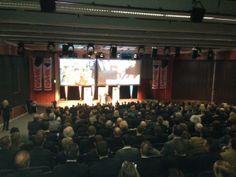 Tolle Auftaktveranstaltung in Linz mit 900 anwesenden Zuhörern :-)