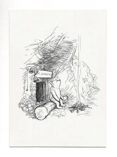 Mr Sanders Winnie the Pooh classic style by ChildrensClassic