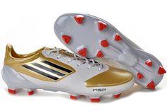 premium selection 05f33 ba713 2012 adidas F50 adizero TRX FG Scarpe Calcio - Oro Bianco