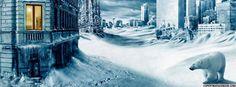 paesaggio con neve Facebook Timeline Cover