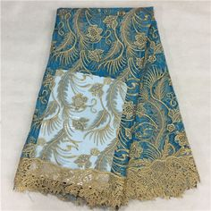 Hot high quality French Swiss voile lace fabric,2016 latest African net lace fabric for Party dress 5yards/lot Free shipping