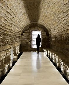 Restoration Of The Galleries Of The Royal Granary Of Carlos IV Of Porcuna (Jaén) For Future Headquarters Of The Archaeological Museum - Picture gallery