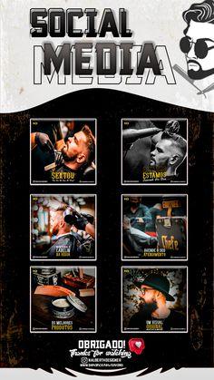 Designers Gráficos, Barbershop Design, Social Media Design, Medium Hair Styles, Ps, Banner, Photoshop, Graphics, King