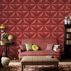 24.41$  Buy now - http://ali2ec.shopchina.info/go.php?t=32738505190 - PVC Embossed Wallpaper Modern Living Room TV Backdrop Wall Covering 3D Stereoscopic Lattice Soft Pack Wallpaper Waterproof In 3D 24.41$ #magazineonlinebeautiful