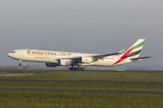 Emirates Airbus A340-541 (registered A6-ERE)