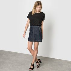 Loose Fit Linen T-Shirt