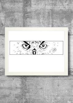 Hoo-Hoo by DrawGeek on Etsy