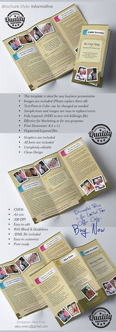 Brochure Trifold, File Organization, Text Fonts, Business Presentation, Templates, Facebook, Stencils, Western Food