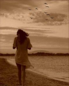 bluesadaphotocollection: Woman, Sea