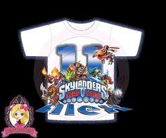 SkyLanders Trap Team Boy Birthday Custom by OnePoshPig1 on Etsy, $6.99