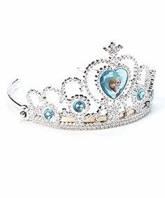 Loving this Frozen Tiara on #zulily! #zulilyfinds