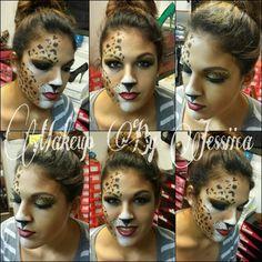 Halloween makeup www.facebook.com/makeupbyjessiica