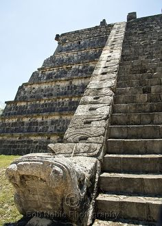 Chichen Itza, Mayan Pyramids, Mexico by Bob Noble Photography, via Flickr