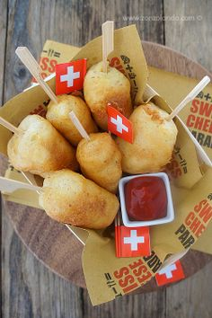 Gruyère cheese corn sticks | From Zonzolando.com