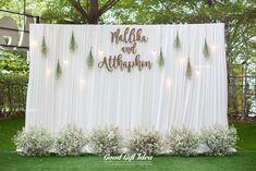54 Ideas For Vintage Wedding Venues Floral Design Wedding Backdrop Design, Wedding Stage Decorations, Engagement Decorations, Wedding Themes, Backdrop Decorations, Backdrop Ideas, Backdrops, Wedding Ceremony, Wedding Venues